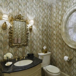 WESTCHESTER RESIDENCE Traditional Powder Room