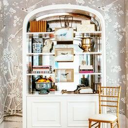 Elegant Hallway Bookcase