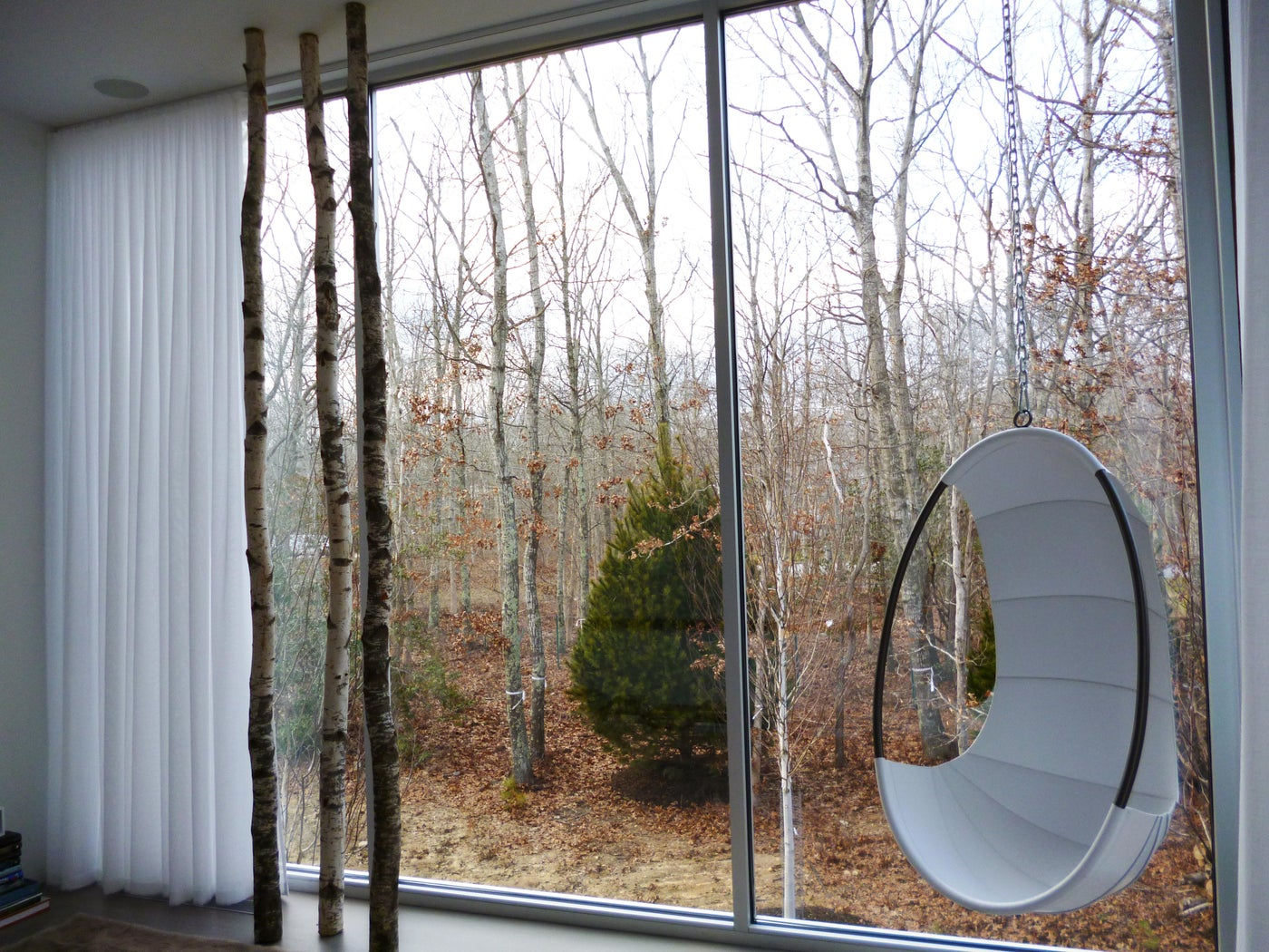 Naturally we were glad to do the drapes for KA Design Group in this Hamptons home.