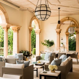Palm Beach Oceanfront home loggia