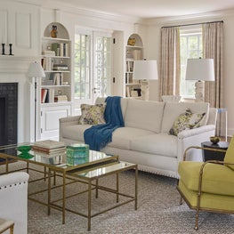 Classic Living Room in New Jersey