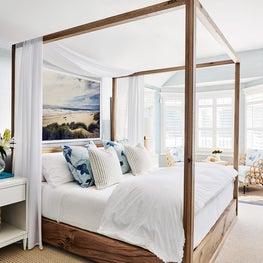 Sea Girt Beach House, Master Bedroom