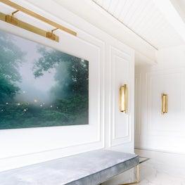 Cozy & Contemporary Foyer