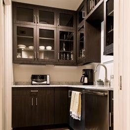 Two Modern Living Flats: Butler's Pantry