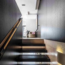 Brickell Penthouse, Staircase