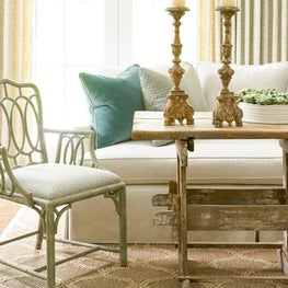 Wade Hampton Family Room Detail