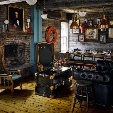 Fireside Lounge at Strangers & Saintes Provincetown