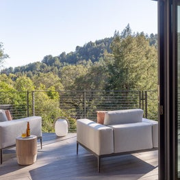"Front Deck ""Modern in the Redwoods"" Mill Valley, California"