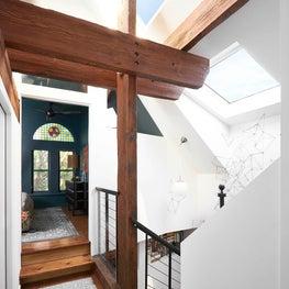 Chicago Cottage by Studio Sven, architectural detail