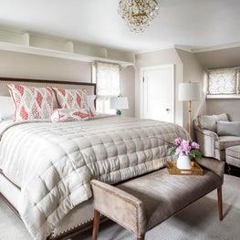 Wintery White Bedroom