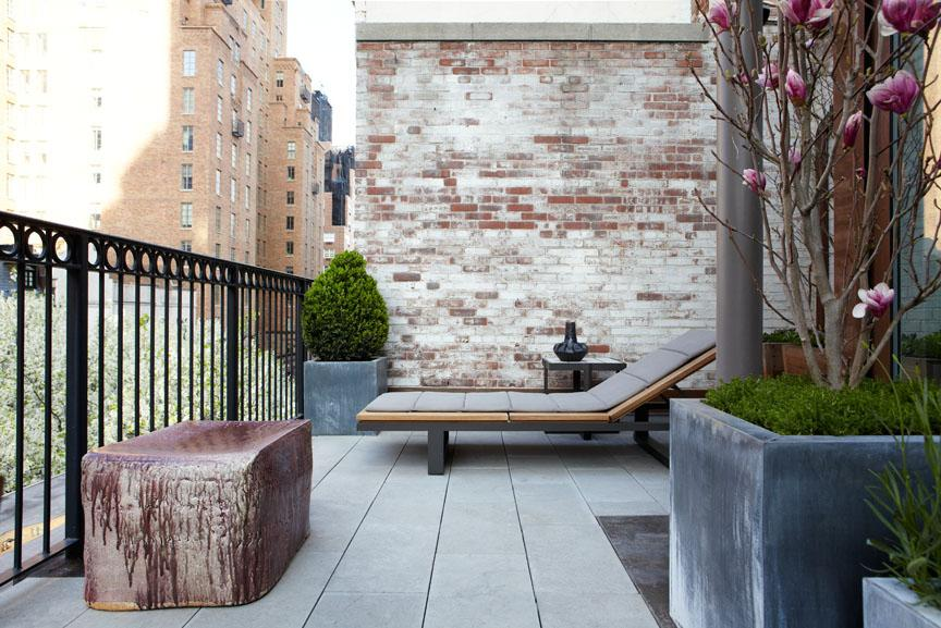 KIPS BAY 2011 A contemporary outdoor terrace designed for Kips Bay Decorator's Showhouse 2011.