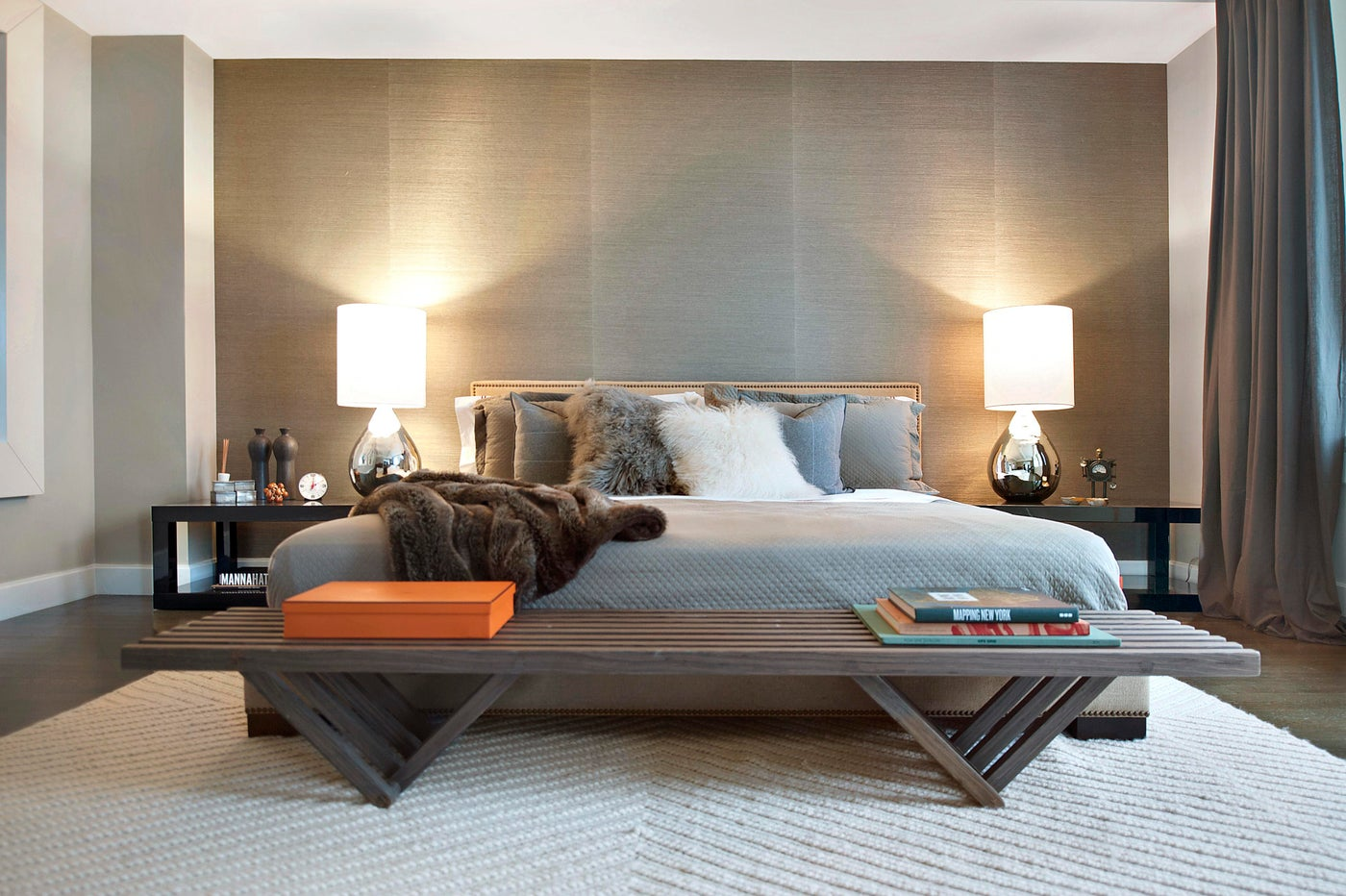 Central Park Residence, Master Bedroom