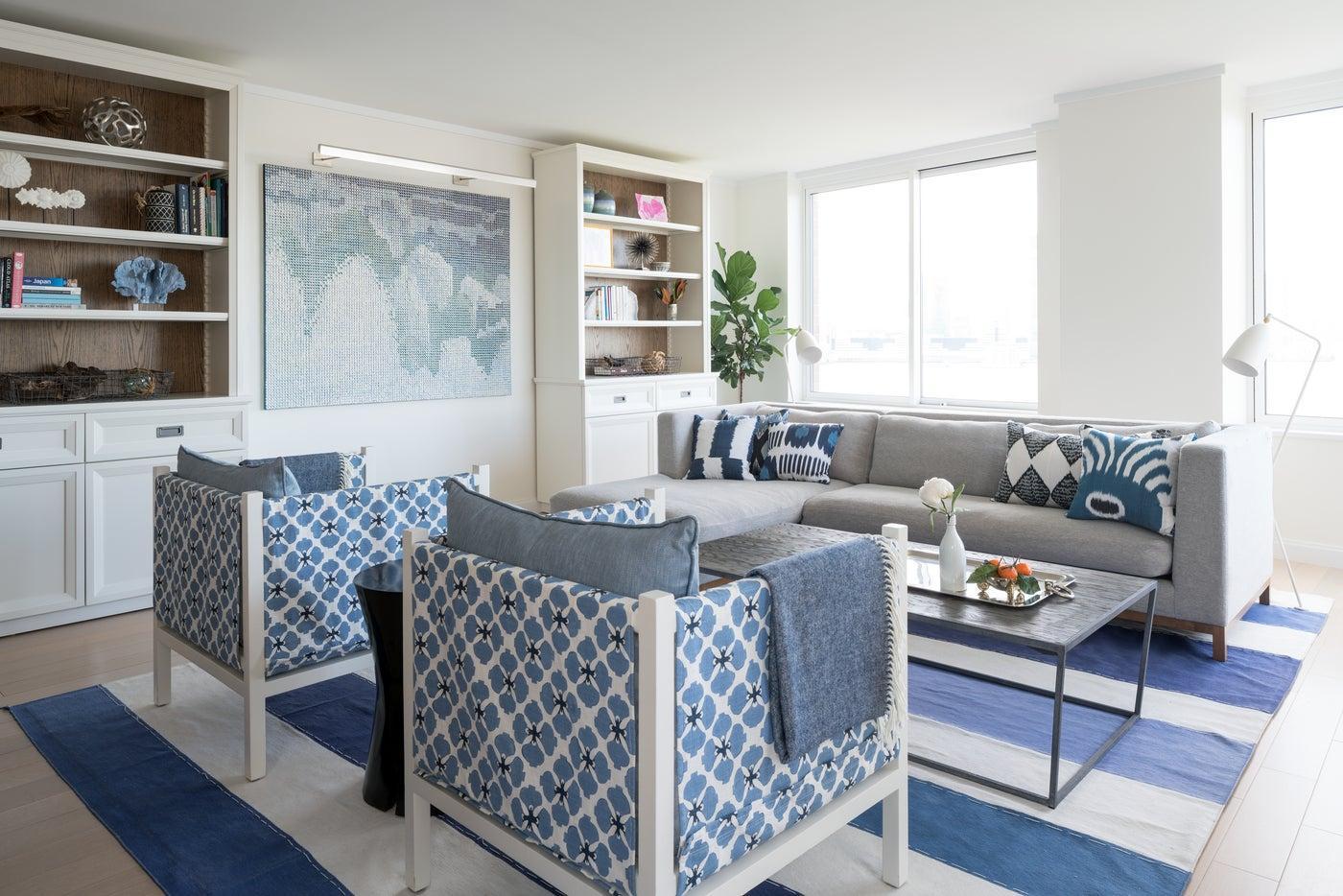 Battery Park City Living Room
