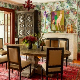 Colorful Townhouse in the Meatpacking District - Dining Room