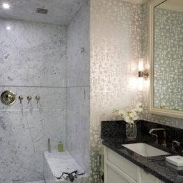 Museum Tower Apartment Master Bathroom