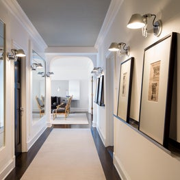 Lake Shore Drive Residence No. 1 Gallery with Room + Board Art Rails.