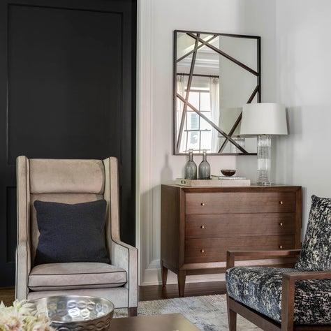Modern Luxury Beacon Hill Living Room