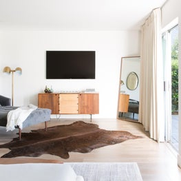 Mountain Mod Project, Master Bedroom.  Mill Valley, California