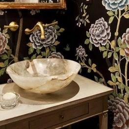powder room // Huntley & Co. Interior Design_Maryland