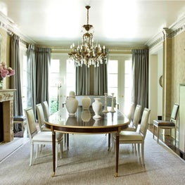 At Home formal dining room