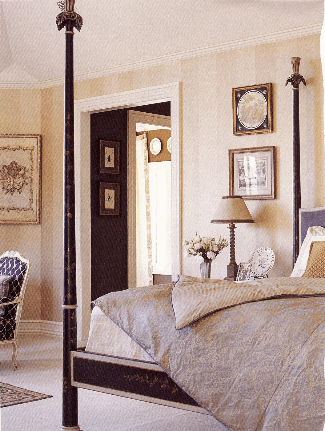 Classic Master Bedroom with Four Poster Bed
