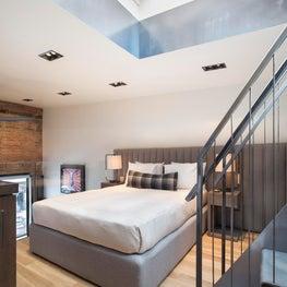 Aspen Historic Renovation - Modern Condo Loft Bedroom