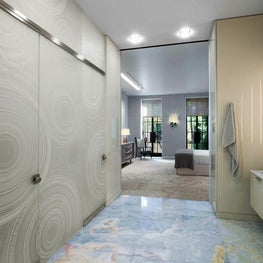 Village Townhouse Master Suite Bathroom