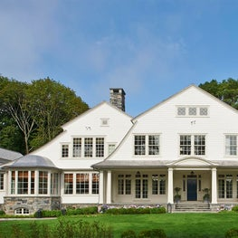Contemporary Shingle Style Overlooking a Tidal River