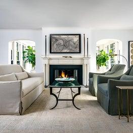 Glencoe George Maher Living Room