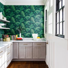 Butlers Pantry with Cole and Son Wallpaper
