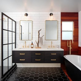 California Modern Master Bathroom