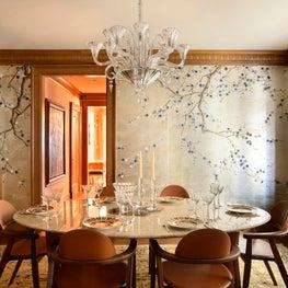 New York Merinoff Apartment Dining Room