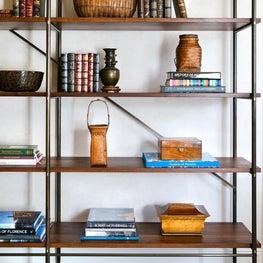 Bookcase Detail, Bel Air