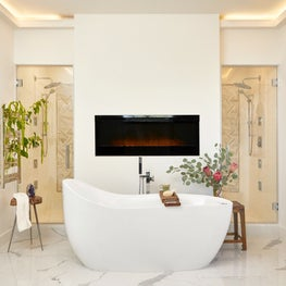 Contemporary Residential Master Bathroom
