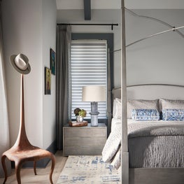 A contemporary take on a traditional bedroom