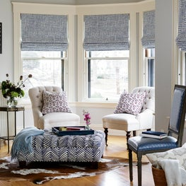 Coastal master suite sitting room. Sophia Shibles Interiors