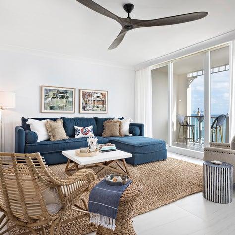 Jupiter Ocean Grande - Condo Renovation: Living Room