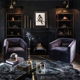 Earthy Glamour, Living Room