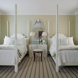 Guest Bedroom in a  Savannah,Georgia Federal Home