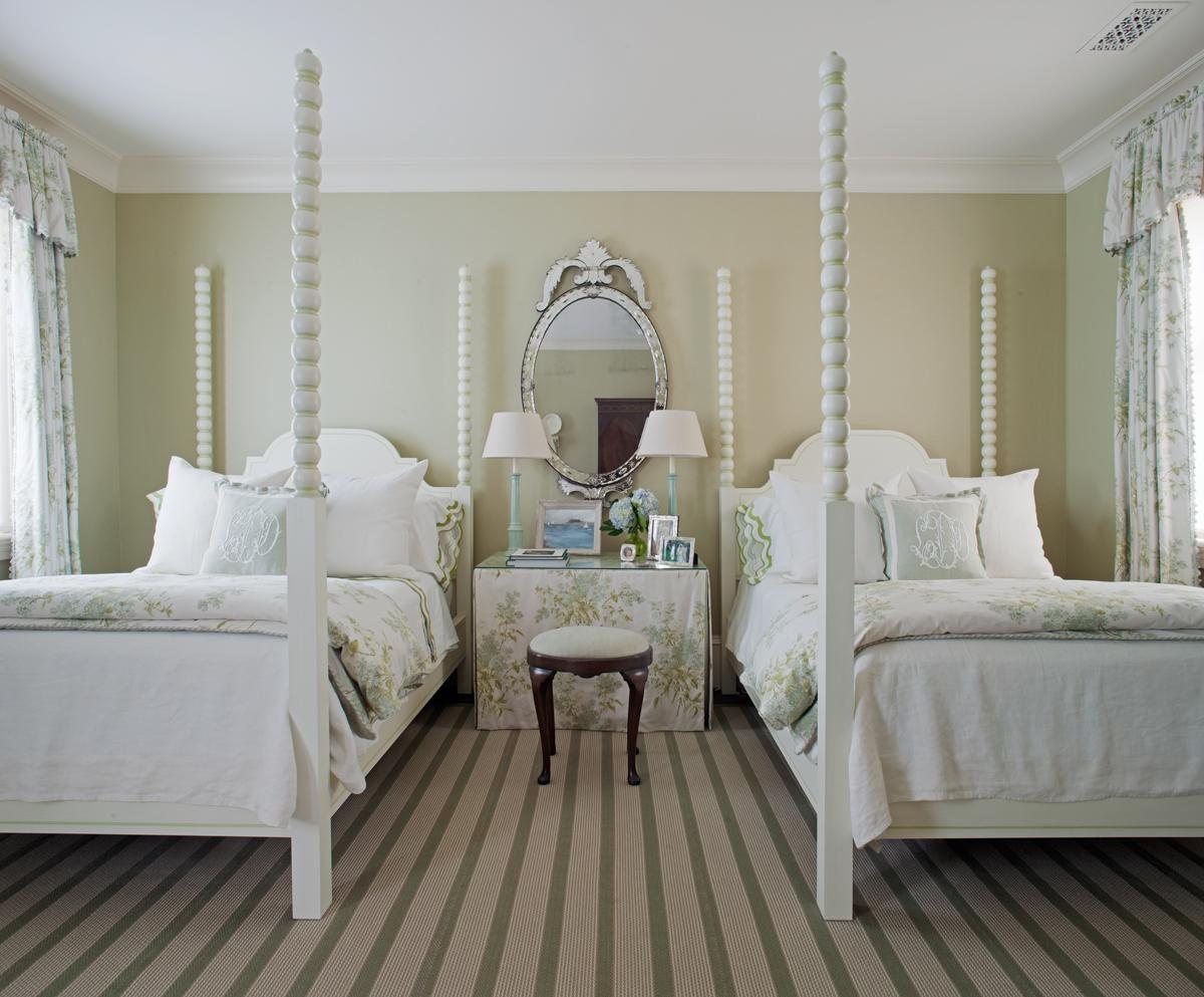 Guest Bedroom in a  Savannah,Georgia Federal Home
