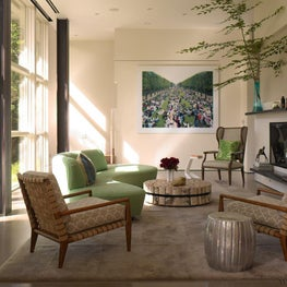 Modern Country House Living Room
