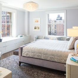 Upper West Side Apartment Master Bedroom