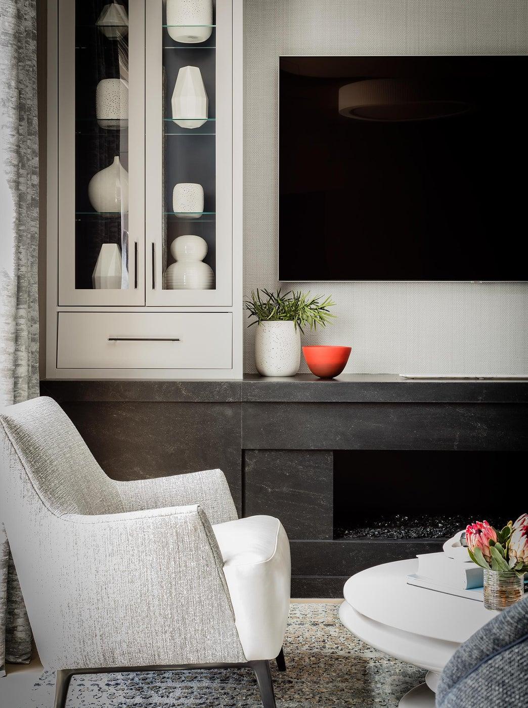 SOUTH END CONTEMPORARY - living room