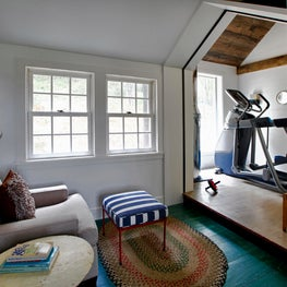 Connecticut Farmhouse, Gym, Family Room