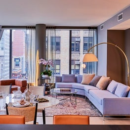 Gramercy Contemporary Interiors with InSpace NY Interiors and OMA Architecture