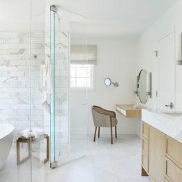 Los Altos Hills Tudor Master Bath