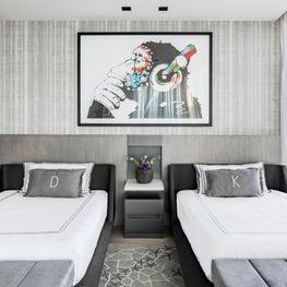 Porsche Design Tower Teen Bedroom