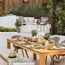 Hillsborough outdoor dining
