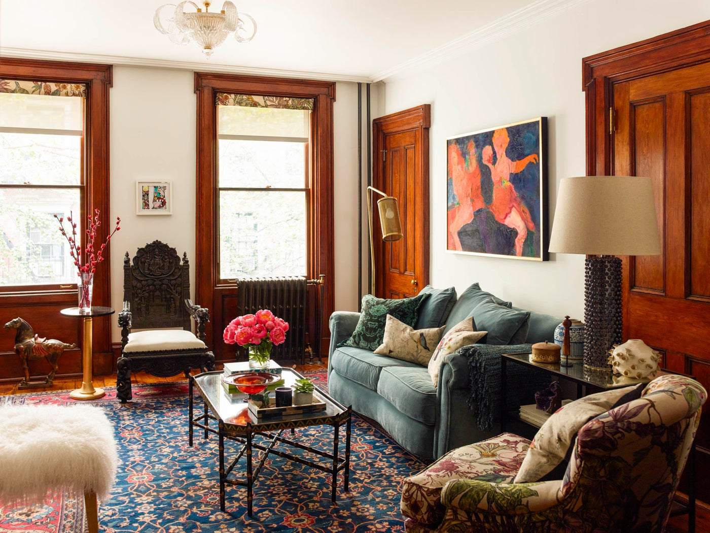 Colorful Townhouse in the Meatpacking District - Living Room