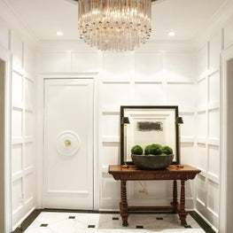 Gold Coast Paneled Foyer